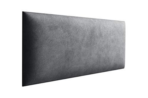 Jerpax 3D Wandpolster aus Webstoff - Wandpaneel mit 35mm Polsterung - Wandpolsterung inkl. Wandbefestigung - Wandkissen mit Montagestreifen