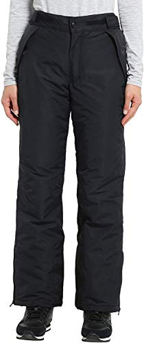 Ultrasport 10022 Damen Pants funktions-ski-/Snowboardhose, Schwarz, XL