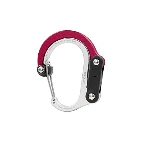 Heroclip - Mini - Clip versátil, mosquetón para Colgar Cualquier Cosa, en Cualquier Lugar