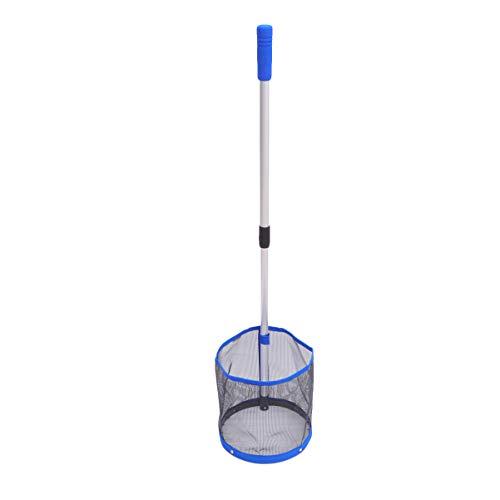 Abaodam Pingpong Ball Retriever Balls Pick Up Net Bolsa de tenis de mesa Herramienta de entrenamiento para pelota (azul)