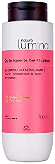 Natura - Linha Lumina (Quimicamente Danificados) - Shampoo Reestruturante 300 Ml - (Natura - Lumina (Chemically Damaged) Collection - Reestructuring Shampoo 10.14 Fl Oz)