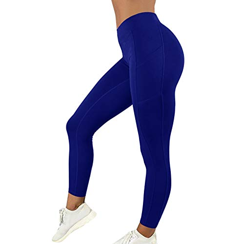 ArcherWlh Leggings Push Up,New Sports Fitness Trousers Sexy Honey Pants Tightening Pants Europe and America Running Hips High Waist Elastic Yoga Trousers Women-Gray_S
