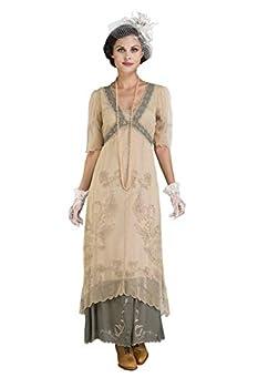 Nataya 40007 Women s Titanic Vintage Style Wedding Dress in Sage  X-Large