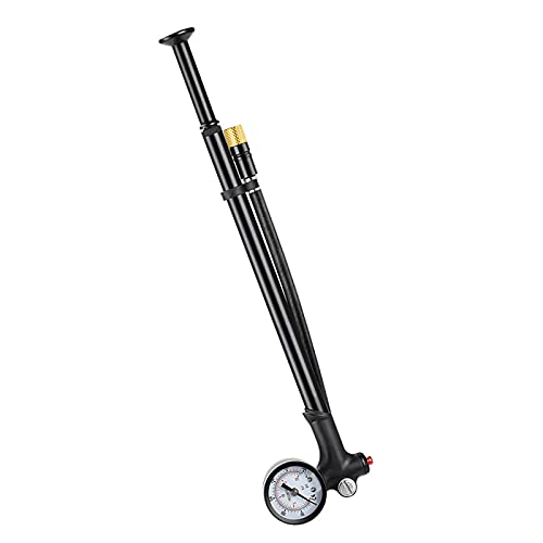 Amagogo Pneumatico per Bicicletta/Pompa Ammortizzatore MTB, Pressione 120 Psi per Ammortizzatore Posteriore E Forcella Ammortizzata, Mountain Bike /