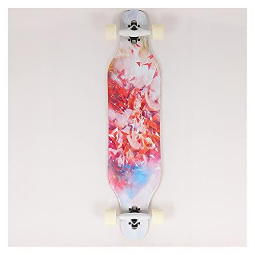 Skateboard Grip Tape Skateboards 41Inch Skateboards for Adults U Teenagers,Maple Cruiser Skate Board, Including Truck, PU Wheels, Back Pattern for Skateboard,Rollerboard,Scooter ect