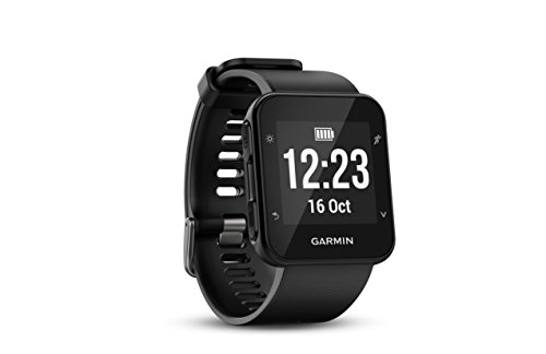 Garmin Forerunner 35 Rubber Watch (Black)