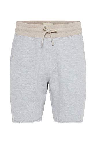 Blend Julio Herren Sweatshorts Kurze Hose Sport- Shorts aus hochwertiger Baumwollmischung Meliert, Größe:M, Farbe:Stone Mix (70813)