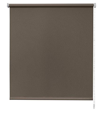 Estores Basic- Enrollable Traslúcido , Cappuccino, 90x250 cm