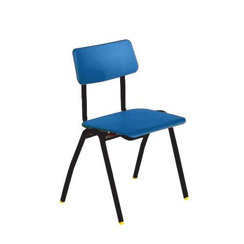 Metalliform Bsf-bk-blue Standard Chaise de salle de classe avec assise 460Â mm, Bleu