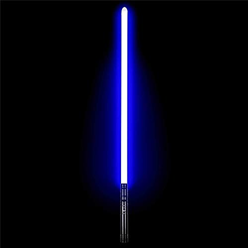Lightsaber Heavy Dueling Metal Handle RGB 10 Färger Ändra 6 Sats SoundFonts Force FX Foc Blaster Toys Present Laser Sword