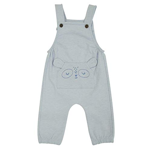 Top Top LATEMOR Petos, Azul (Celeste 725), 74 (Tamaño del Fabricante:9-12) para Bebés