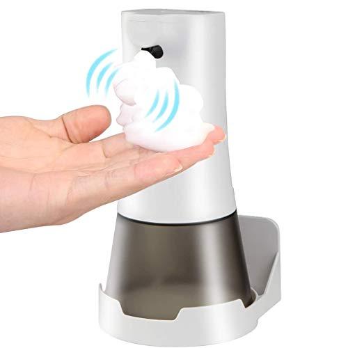 CXD Automatische Schaumseifenspender, Wandhalterung Touchless Schäumende - Seifenspender Hand Freies Touch Free Foam Waschmittelschublade for Küche Badezimmer Toilette Büro Hotel