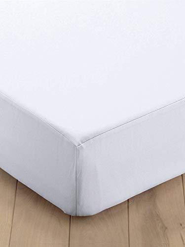 Vertbaudet Alèse Molleton Entretien Facile Blanc 90x140