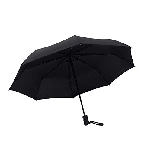 NKJH Output Devices Compact Quick Drying Travel Windproof Umbrella 8 Windproof Frame Improved Automatic Opening Closing Anti-Slip Handle For Easy Transportation rainwear