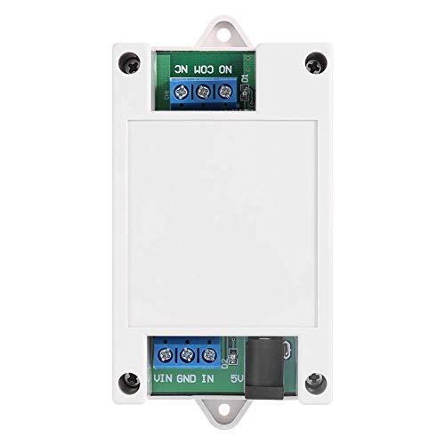LIANGANAN Remota móvil, móvil del relé de 5V-24V 1 canal Bluetooth remoto interruptor de control for Android condensador probador de teléfono Bluetooth remoto