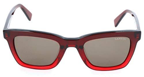 Lanvin SLN723M 06BD 49 23 140 Gafas de sol, Rojo (Rot), Mujer