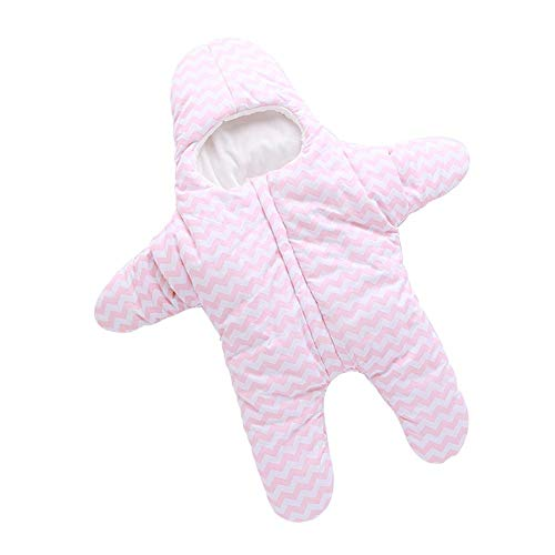 Lolly-U Baby Schlafsack Starfish Sleeping Bag Outdoor Baby Sleeping Sack Fleece Lined Thickened Baby Anti Kick Blanket
