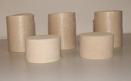 25 Stück Bierdeckel Rohlinge blanko unbedruckt rund Ø 107 mm Material aus original Bierdeckelpappe