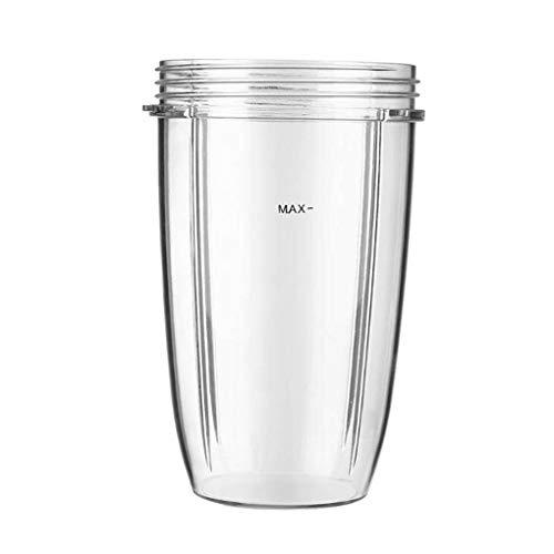 rongweiwang Juicer Cups Austauschbare Becher Beispritzlack Mithelfer Nutribullet Austauschbare Entsafter Cups Ersatz für Nutribullet, 24oz
