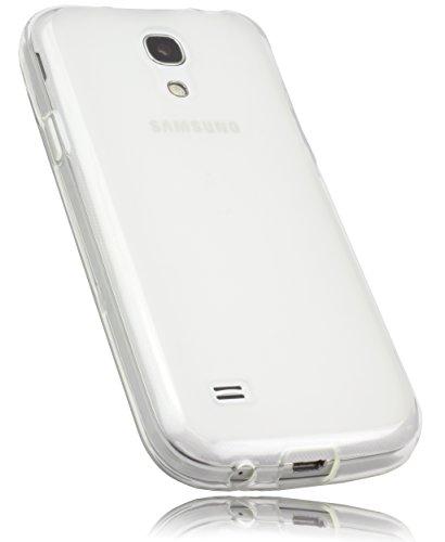mumbi Hülle kompatibel mit Samsung Galaxy S4 mini Handy Case Handyhülle, transparent weiss