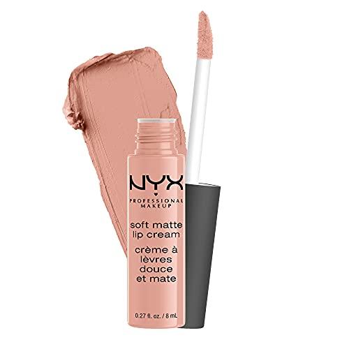 NYX PROFESSIONAL MAKEUP Soft Matte Lip Cream, Lightweight Liquid Lipstick - Cairo (Matte Pure Nude)
