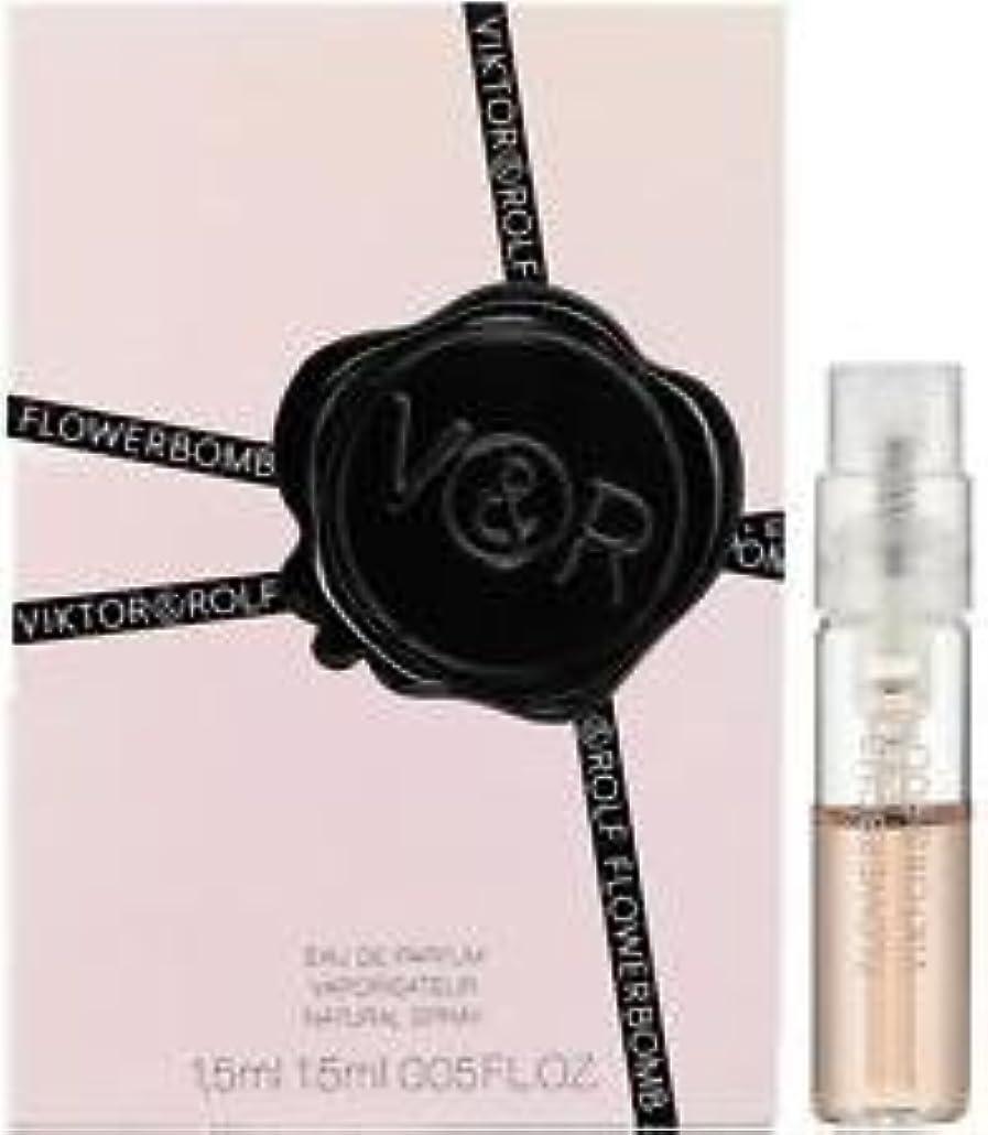 選ぶ弱める四回Flowerbomb (フラワーボム) 1.5ml サンプル コロン スプレー by Viktor & Rolf for Women
