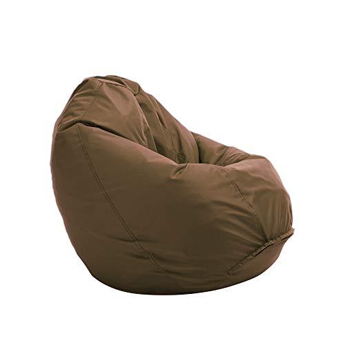 Bruni Sitzsack Classico M in Hellbraun – Sitzsack mit Innensack zum Zocken & Lesen, Abnehmbarer Bezug, lebensmittelechte EPS-Perlen als Bean-Bag-Füllung, aus Deutschland