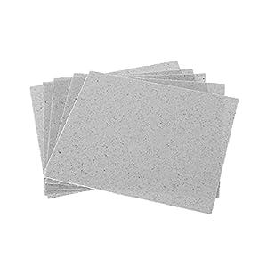 FPZHONG® 5pcs / Set 12x12CM / 4.7x4.7inch Micro-Ondes Micro Plaques De Mica Réparation De La Résistance Thermique