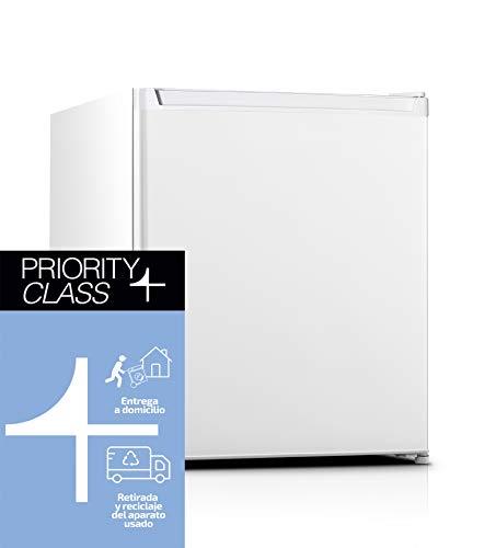 Sauber - Frigorífico Compacto Una Puerta SFTT-51 - Eficiencia energética: A+ - 51 x 44 cm - Color Blanco
