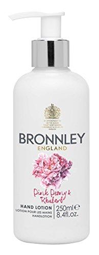 Bronnley Lotion Pour Les Mains 250ml, Pivoine Rose et Rhubarbe