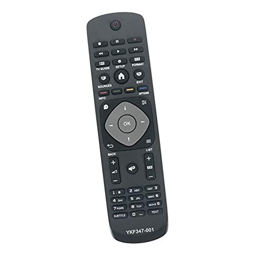 ALLIMITY YKF347-001 Reemplazo de Mandos a Distancia por Philips HD Ready TV 32PHT4001/05 24PFS4022/12 24PHT4022/24 24PHH4000/88 43PFT4001/05 32PHT4001 24PFS4022 24PHT4022 24PHH4000 43PFT4001