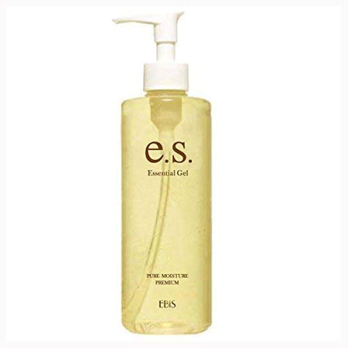 偏見放棄された脚本エビス化粧品(EBiS) イーエスエッセンシャルジェル (310g) 美顔器ジェル 無添加処方 アルコールフリー 日本製 男女兼用 保湿ジェル