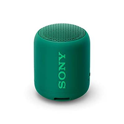 Sony SRS-XB12, Compact & Portable Waterproof Wireless Speaker with EXTRA BASS - Green from Sony