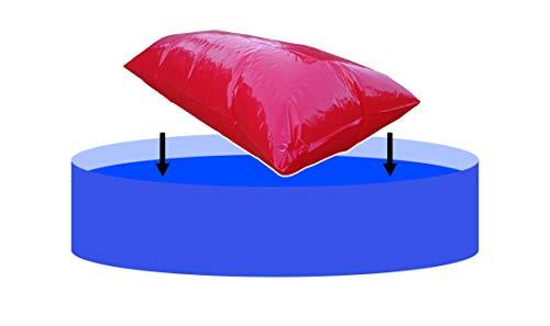 EPSS XXL Pool Luftkissen, Poolkissen, Poolpolster und Winterkissen für Abdeckplanen mit neuem Ventil (2x4m)