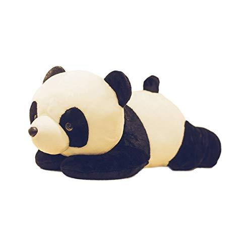 WEIZI Panda muñeca Juguete Felpa Negro Negro Marionetas
