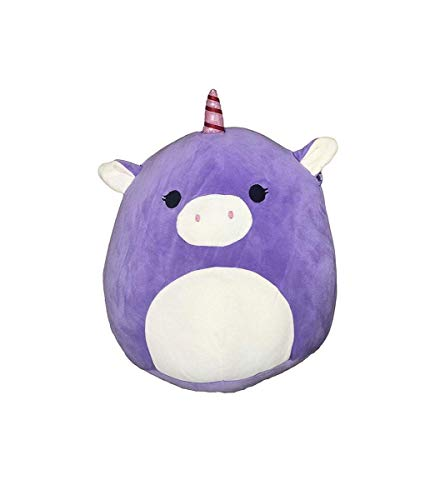 Squishmallow Kellytoy 13 Inch Astrid The Purple Unicorn Super Soft Plush Toy Pillow Pet