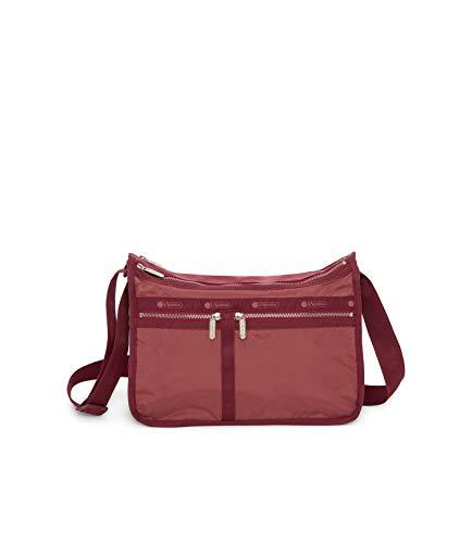 LeSportsac Heritage Rouge Deluxe Umhängetasche für jeden Tag, mit Kosmetiktasche, Stil 7507/Color...