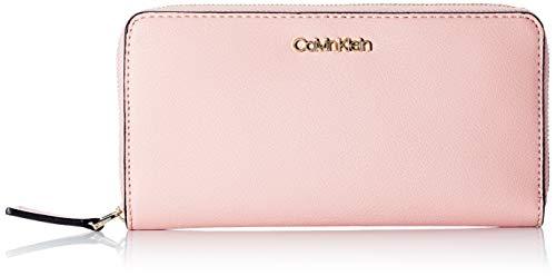 Calvin Klein Z/A Wallet LG, Accesorio Billetera de Viaje para Mujer, Purple, One Size
