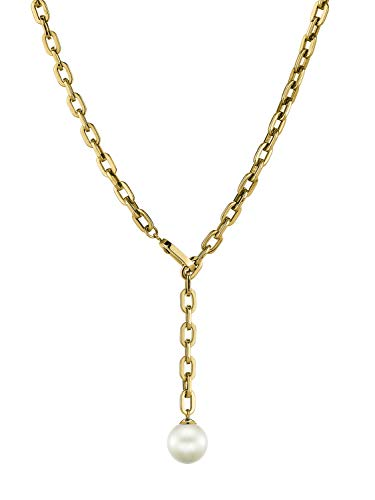 LIEBESKIND BERLIN Damen-Perlenketten Edelstahl LJ-0266-N-90