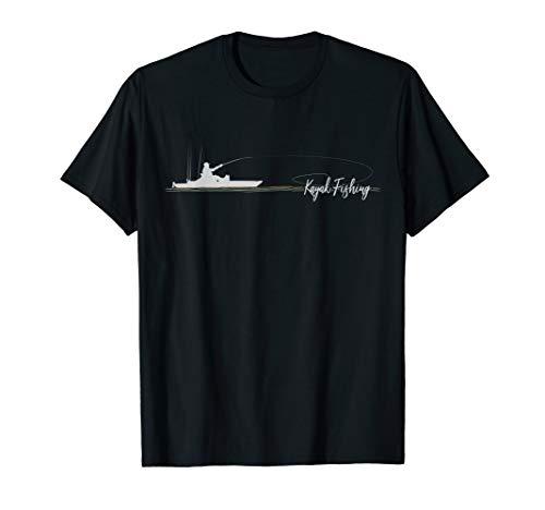 Kayak Fishing Pedal Drive Kayaking Gift Kayak Bass Angler T-Shirt