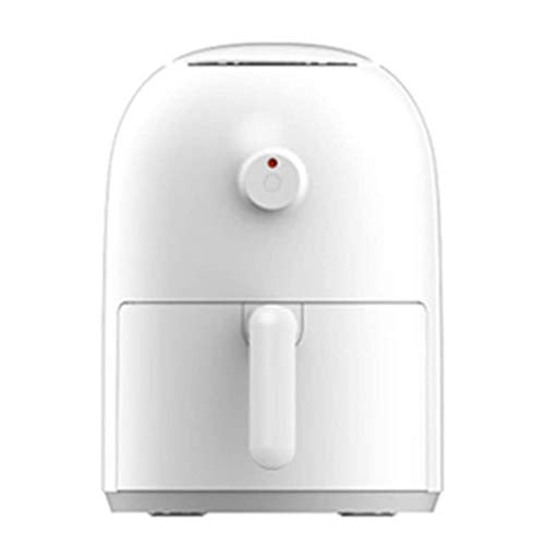 SHUUY Air Fryer, Oil-Free Healthier Low-Fat Mini Oven, White Minimalist Fashion Design 100 Recipes for Your Air Fryer Book