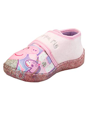 Peppa Pig Chaussons Fille Rose 28