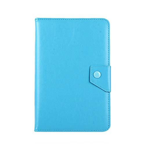 JIANGHONGYAN Caja de Cuero de 8 Pulgadas Tablets Crazy Horse Funda Protectora de Shell con Soporte for Samsung Galaxy Tab S2 8.0 T715 / T710, Cubo U16GT, Onda Vi30W, Teclast P86 (Color : Baby Blue)