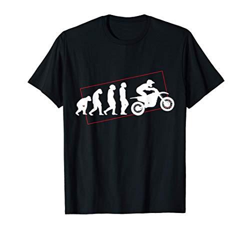 Motocross Dirt Bike Enduro, The Evolution of Motocross MX Camiseta