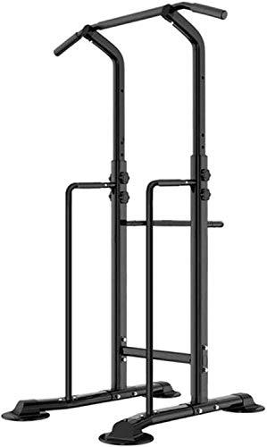 LAZNG Power Tower barra del levantamiento Dip Soportes de elevación ajustable Estación-multi-función de elevación de la estación de entrenamiento de la fuerza-Dip Párese entrenamiento de la aptitud Ba