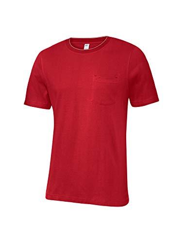 Joy Sportswear Herren T-Shirt Alex, modischer Schnitt, ideal für Sport und Freizeit 52, Racing red