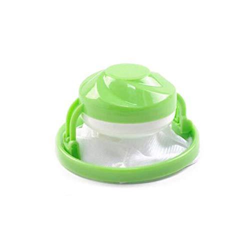 1/3 piezas de malla redonda filtro bolsa de natación estilo lavadora de lana filtración eliminación de pelo dispositivo de lavado de la lavadora de la bola de limpieza