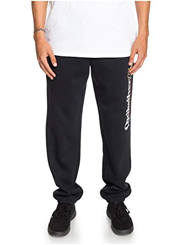 Quiksilver Trackpant Jogging Pants Medium Black