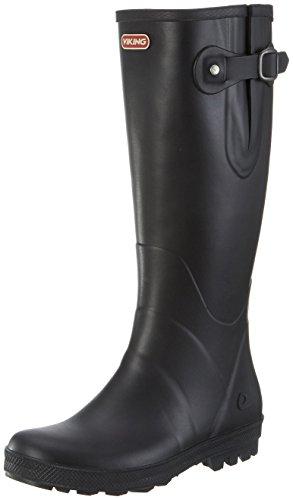 viking Foxy, Damen Gummistiefel, Schwarz (Black), 41 EU (7.5 UK)