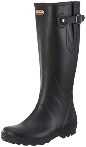 viking Foxy, Damen Gummistiefel, Schwarz (Black), 41 EU (7.5 UK)